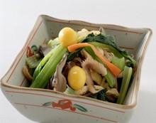 小松菜ときのこの和え物